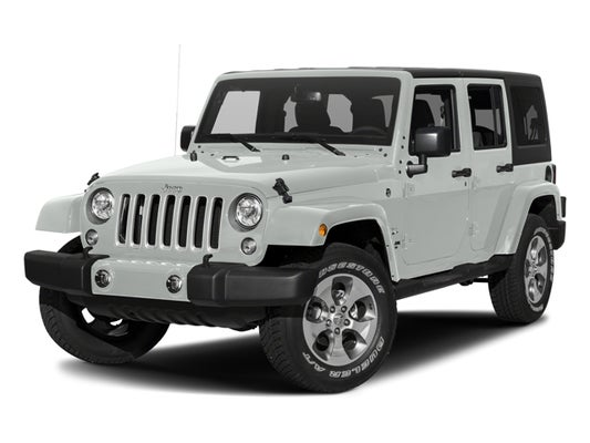 2017 Jeep Wrangler Unlimited Sahara In Cody Wy Fremont Ford